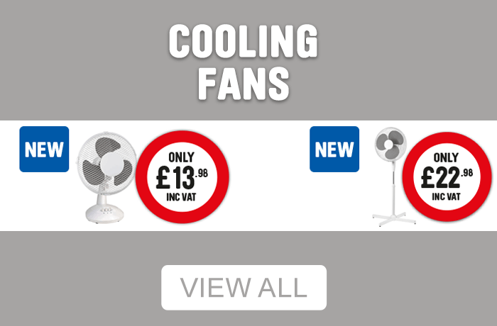 cooling fans - view all.
