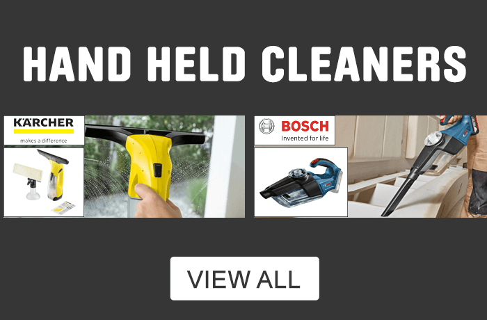 Hand Held cleaners. View all