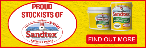 Proud Stockists of Sandtex. Find out More