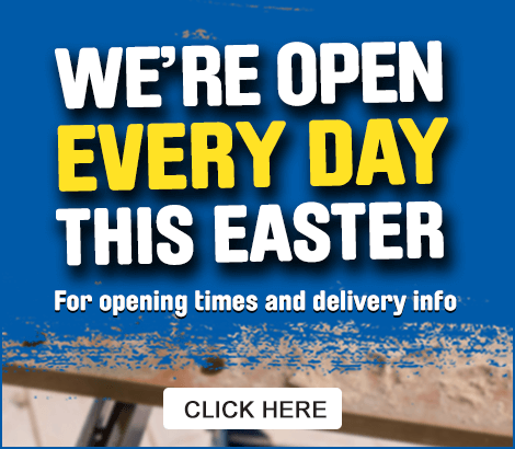 We are open this Easter - see opening times
