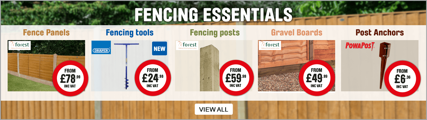 fencing essentials. view all.