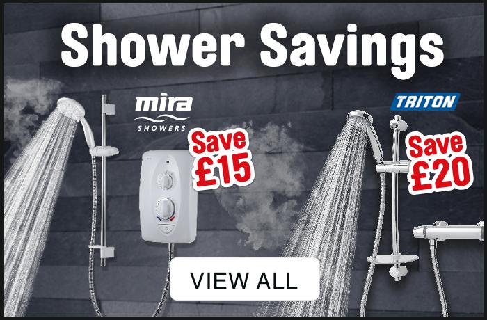 shower savings. view all.