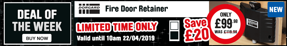 deal of the week - Dorgard door retainer