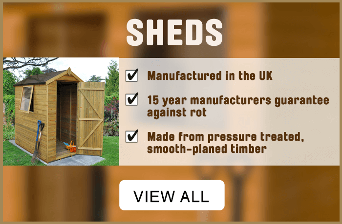 Sheds. View all