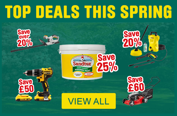 Top deals this spring. view all.