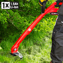 Einhell - Power X-Change 18V 24cm Cordless Grass Trimmer GC CT18/24Li