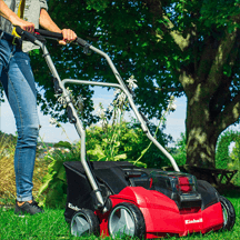 Einhell - Power X-Change 2 x 18v (36V) Li-Ion Cordless Scarifier Body Only