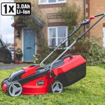 Einhell - Power X-Change GE-CM 18/30 Li 18V 30cm Cordless Lawnmower