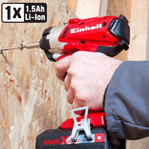Einhell - Power X-Change TE-CI 18V Li-Ion Cordless Impact Driver