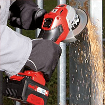 Einhell - Power X-Change TE-AG 18V Li-Ion Cordless 115mm Angle Grinder Body Only