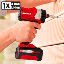 Einhell - Power X-Change 18V Li-Ion Cordless Brushless Impact Driver