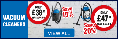vacuum cleaners - view all