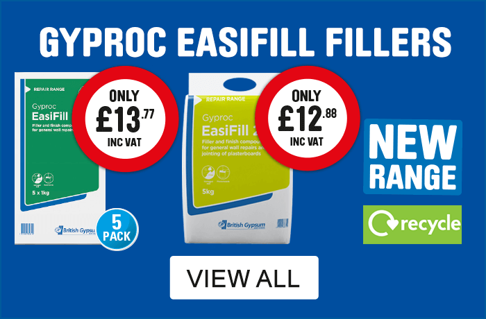 Gyproc easifill fillers NEW - view all