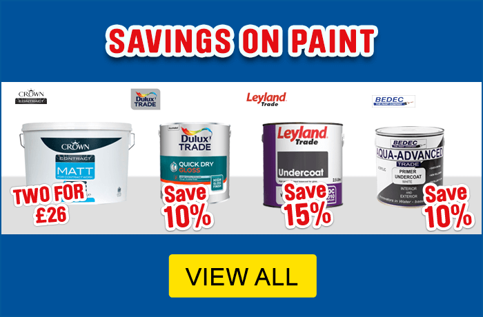 Savings on paint - view all