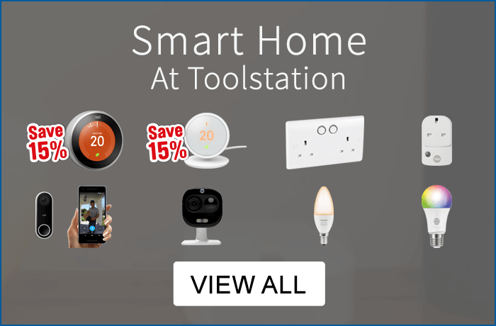 Smart homes at toolstation - view all