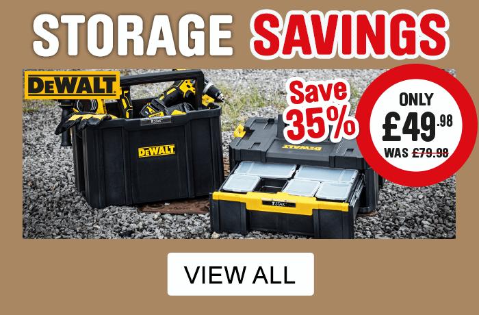 Cat 81 storage savings - view all