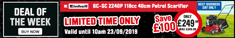 Save £100 on this Einhell Scarifier - Limited time only