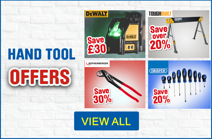 New hand tool offers - view all