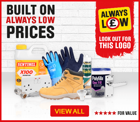 Built on always low prices - view all