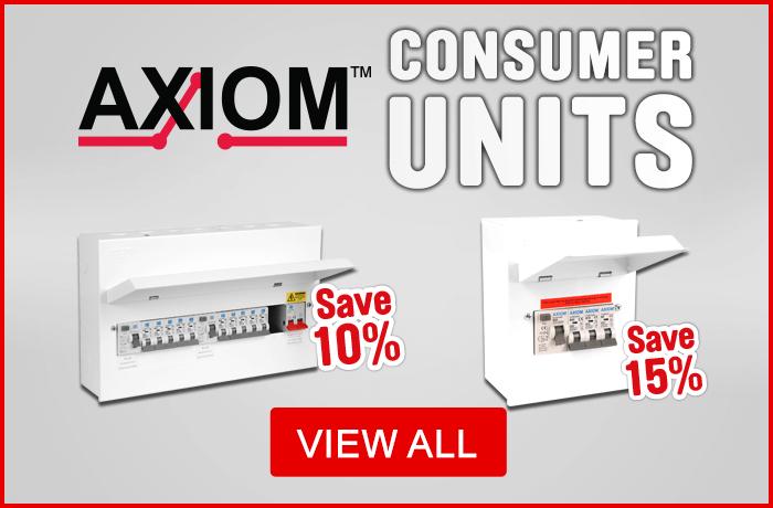 Axiom consumer units - view all