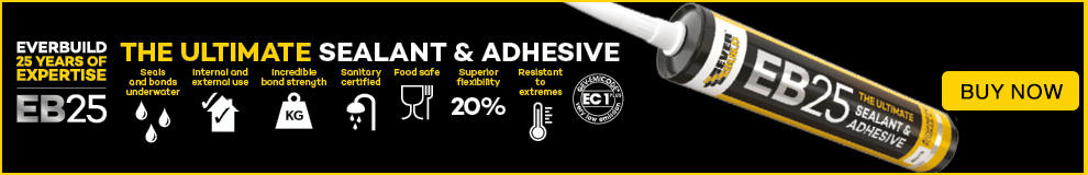 EB25 The Ultimate Sealant & Adhesive. Buy Now.