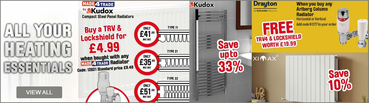 All your heating essentials - view all