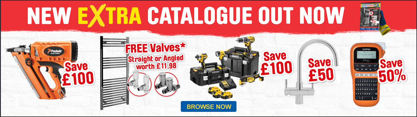 Toolstation Extra out now - view all offers