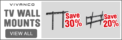 TV Wall Mounts save up to 30% - View All