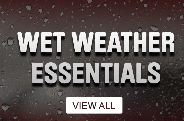wet weather essentials - view all
