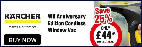 Karcher WV Anniversary Edition Cordless Window Vac - Buy Now