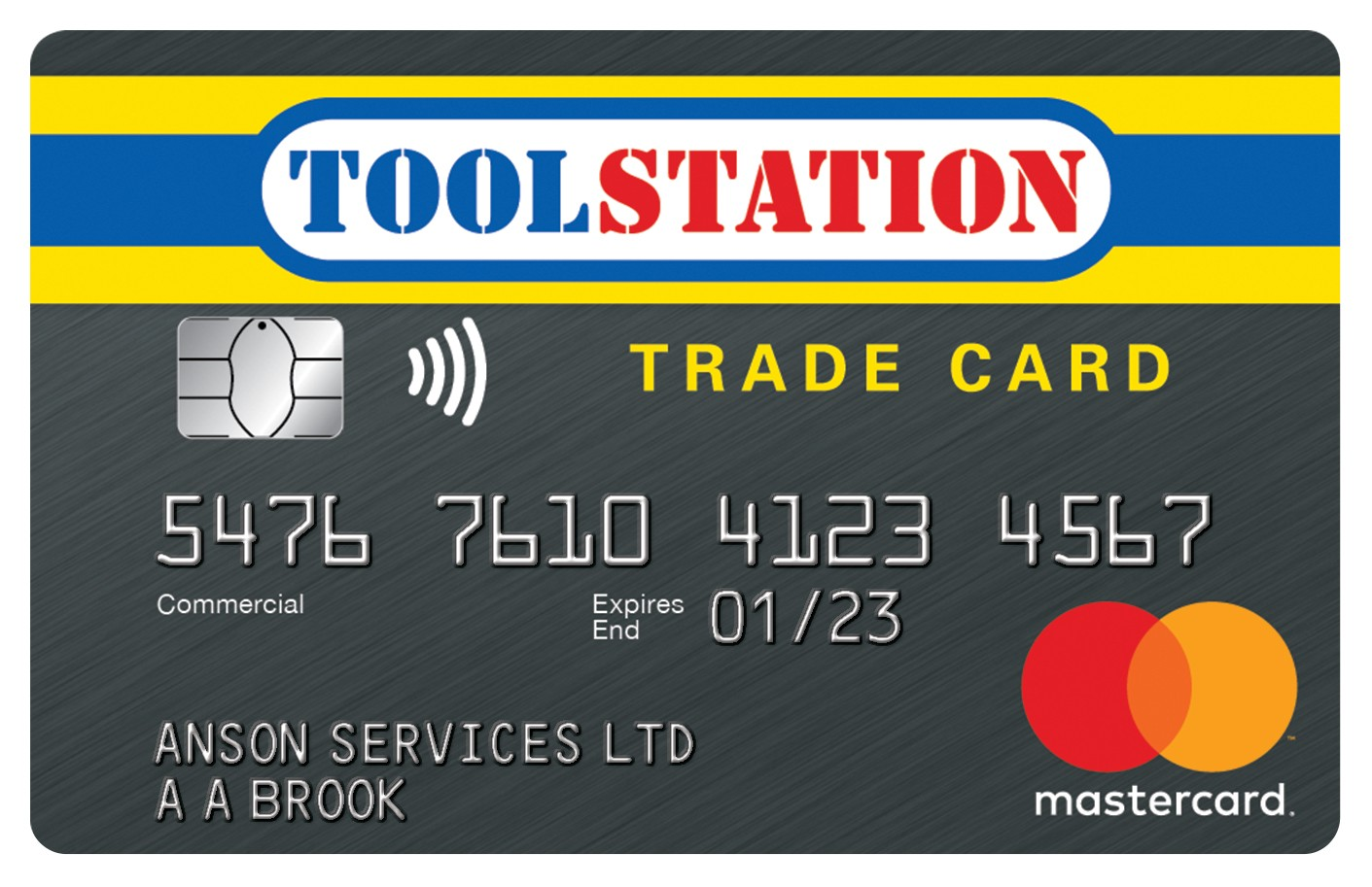 Toolstation Trade Card