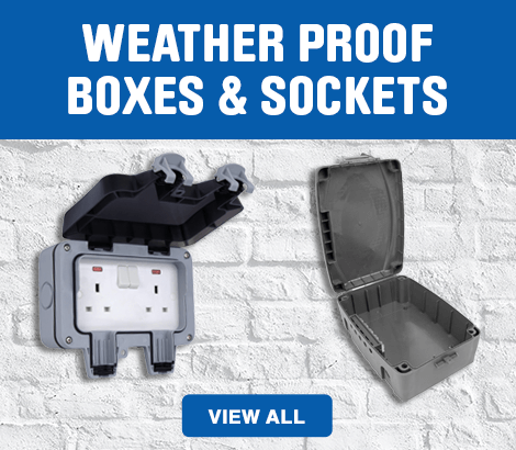 Weather Proof Boxes And Sockets - view all