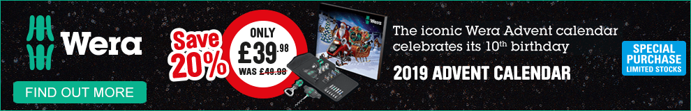 Wera New Christmas 2019 Advent Calendar - Find Out More