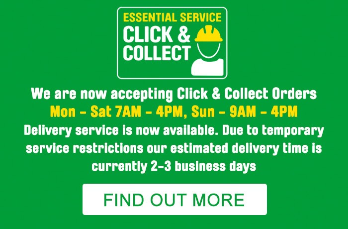 Essential Service. Click and Collect Hubs. Find Out More