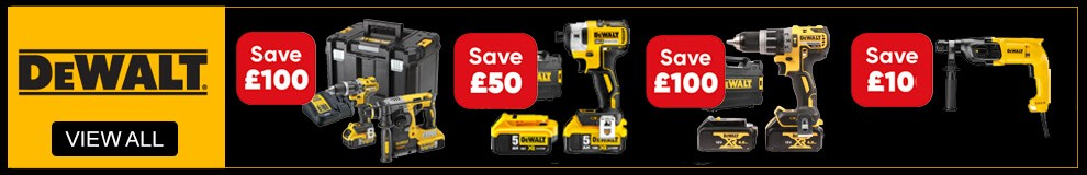 DeWalt Power Tool Savings - View All