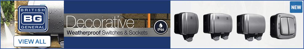 BG Decorative Sockets - View All