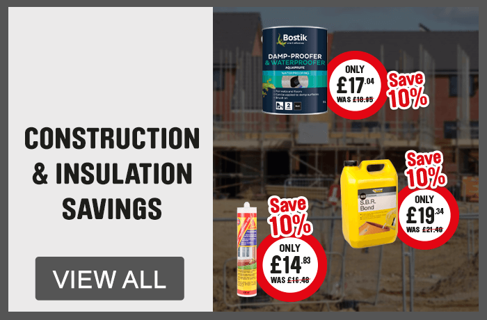 Construction & Insulation Savings - View All