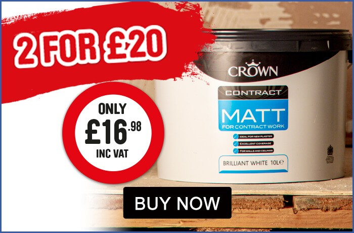 Crown Paints 2 for £20 - View All