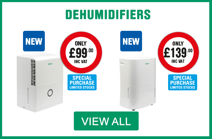 Dehumidifiers. View All