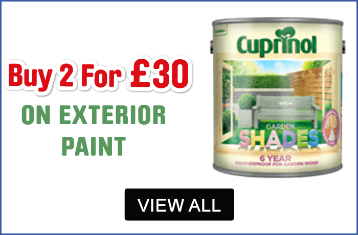 Cuprinol 2 for £30 Exterior Paint - View All