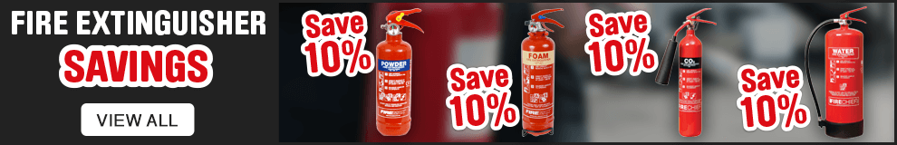 Fire Extinguisher Savings. View All