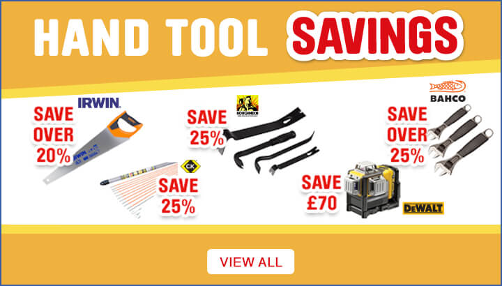 Hand Tools Savings  - View All