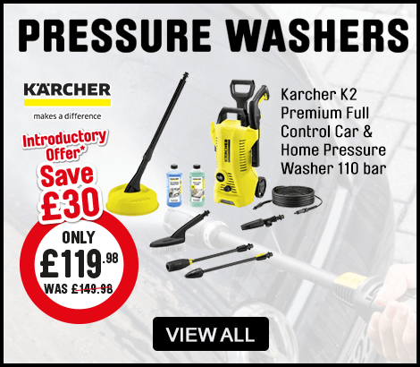 Karcher Pressure Washers - View All