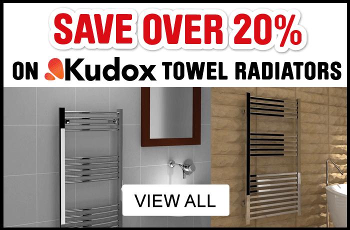 Save 20% on Kudox Designer Towel Radiators- View All