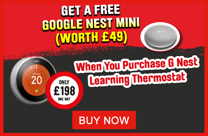 Free Google Nest when you buy Nest Learning Thermostat. View All