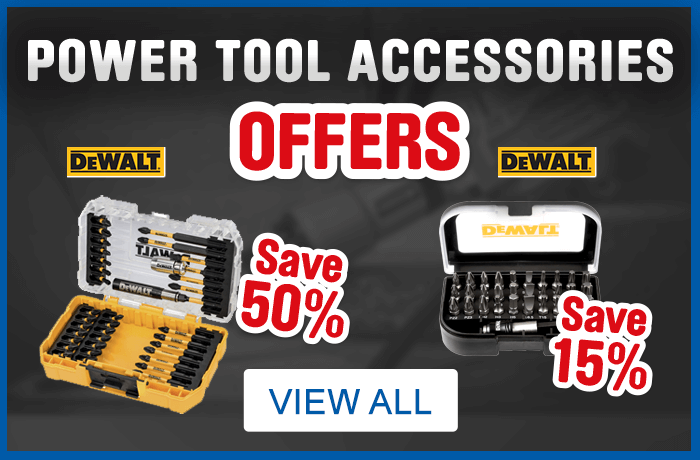 Power Tools Accessories Offers. View All