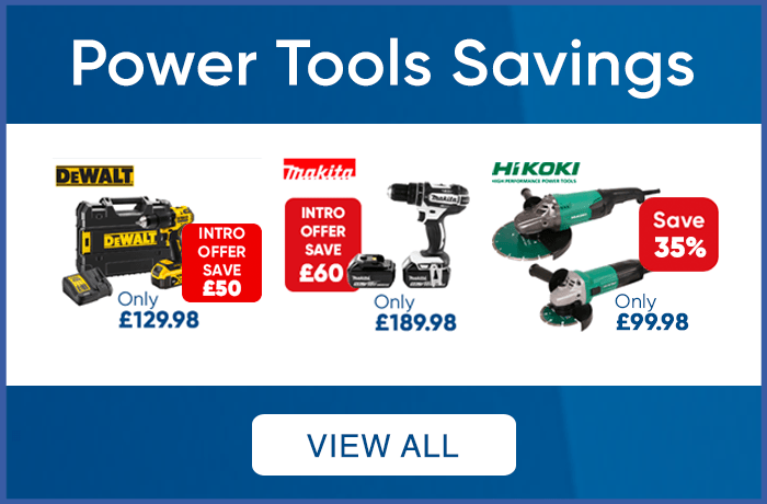 Power Tools Savings - View All
