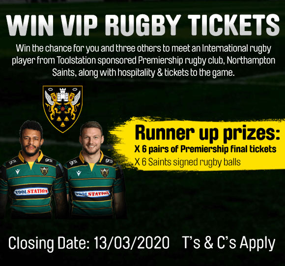 Win VIP Rugby Tickets