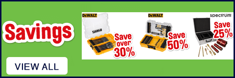 Power Tool Accessory Savings - View All