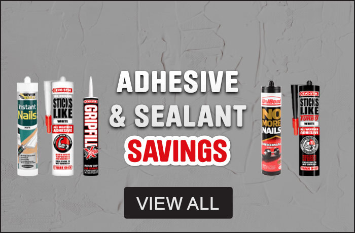 Adhesive & Sealant Savings - View All